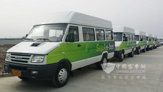 南京依维柯,强强联合的新能源汽车之路