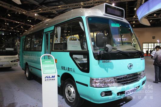 海格纯电动客车klq6702gev-公交版
