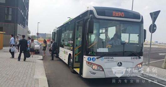 常隆客车成为米兰世博会唯一指定用车