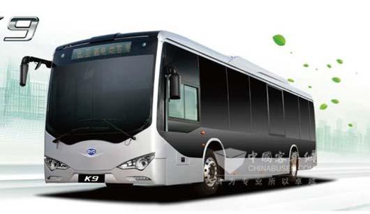 比亚迪K9纯电动客车-比亚迪客车在海外不走寻常路的精彩高清图片