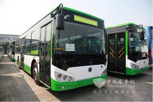 申龙新能源公交再次批量交付云南