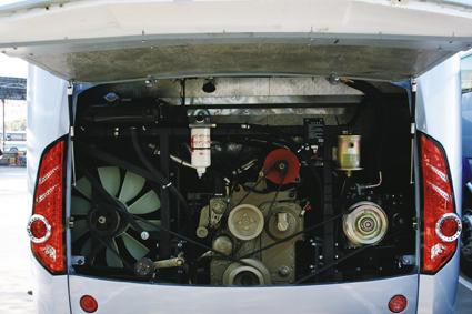 路胜搭载了由上柴生产的最大功率能达到184kw的高压共轨发动机.