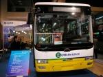五洲龙响应新能源号召 混合动力车亮相北京客车展