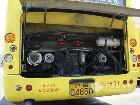 根据报告,第一代金旅混合动力客车故障率比较高,混合动力系高清图片