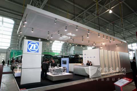 采埃孚2011上海客车展展台