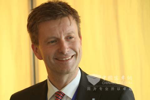 采埃孚集团商用车车桥系统业务部总裁Andreas Moser