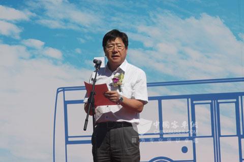 北京公交领导讲话