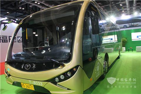 青年JNP6123BEV电动公交车