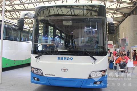 上海万象大宇SXC6110GBEV系列纯电动城市客车