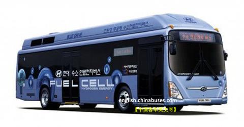 代燃料电池公交车