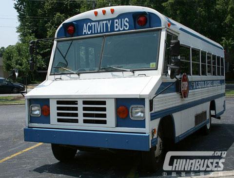 蓝鸟 Mini Bird activity bus(于1995年-2000年间生产)