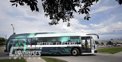 美国proterra在犹他州55座城市举行客车游展