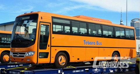 斐济Tebara投资50万美 引进首辆纯电动客车