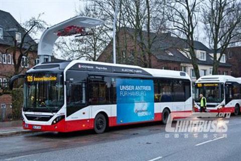 沃尔沃7900纯电动客车即将亮相2015 Busworld土耳其车展