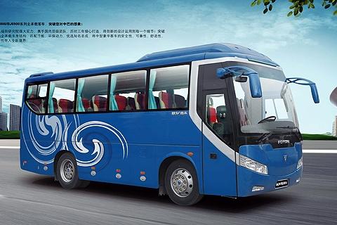 福田欧辉客车bj6800图片
