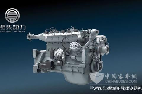 潍柴动力WT615/226B系列气体发动机