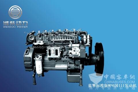 潍柴动力蓝擎WP6系列发动机