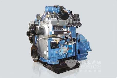上柴SC5DT系列天然气发动机