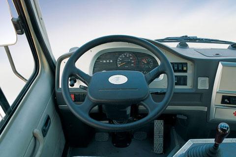 汽车驾驶室内部结构图解