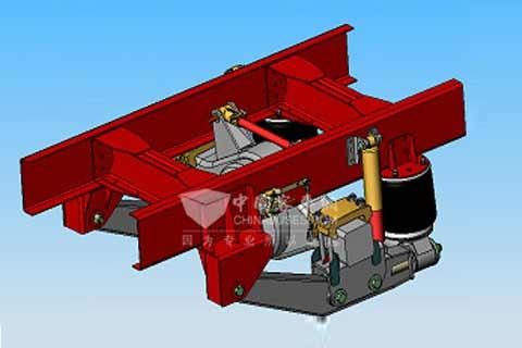 Tuthill(塔海尔) DF110 11T 驱动桥空气悬架(9-10m客车)