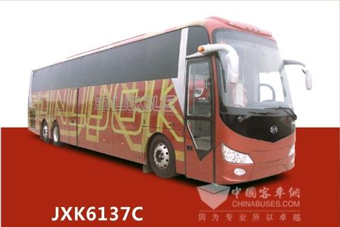 百路佳客车JXK6137C