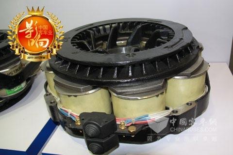 华越Fv8-161电涡流缓速器