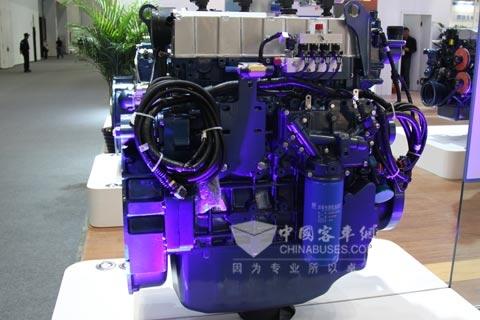 潍柴蓝擎WP5系列气体发动机