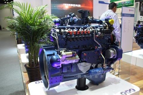 潍柴蓝擎WP6系列气体发动机