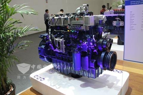 潍柴蓝擎WP7系列气体发动机