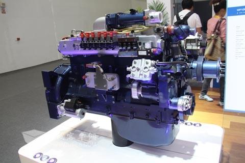 潍柴蓝擎WP10系列气体发动机