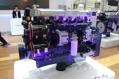 潍柴蓝擎WP12系列气体发动机