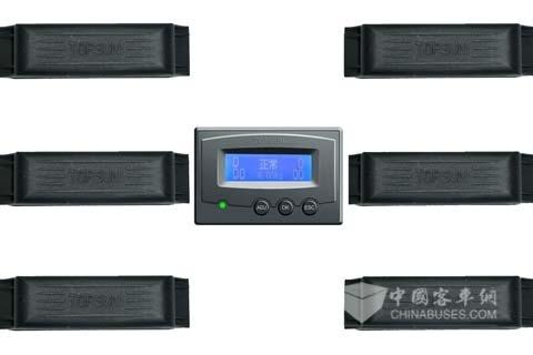 南京泰晟H6CQ轮胎温压智能监测系统