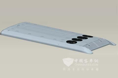 新同创JLR11A型客车空调