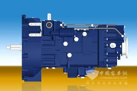 綦齿传动8S2000客车专用变速器