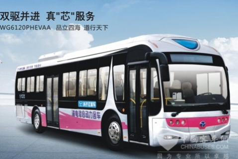 扬子江客车WG6120PHEVAA