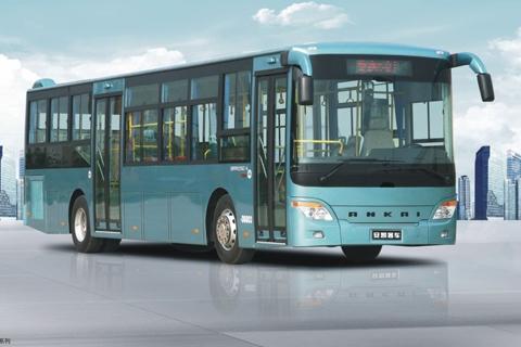 安凯客车HFF6126G03EV纯电动公交车