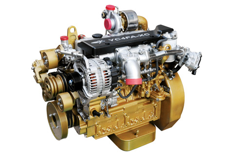 yc4fa系列国4柴油机主要技术参数: 报价咨询