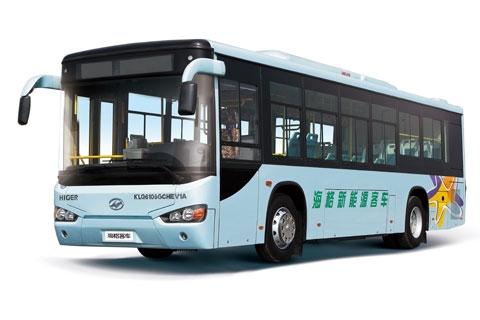 海格KLQ6109GCHEV1插电式新能源公交