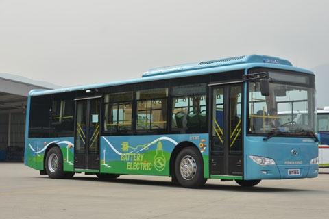 大金龙XMQ6111AGBEV短后悬纯电动公交车