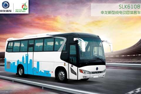 申龙SLK6108纯电动团体客车