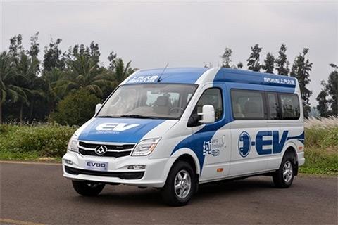 上汽大通EV80纯电动车