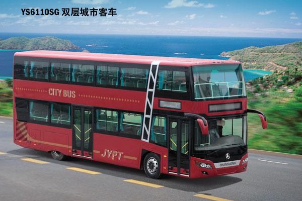 常隆ys6110sg双层公交车(柴油国三40-76座)