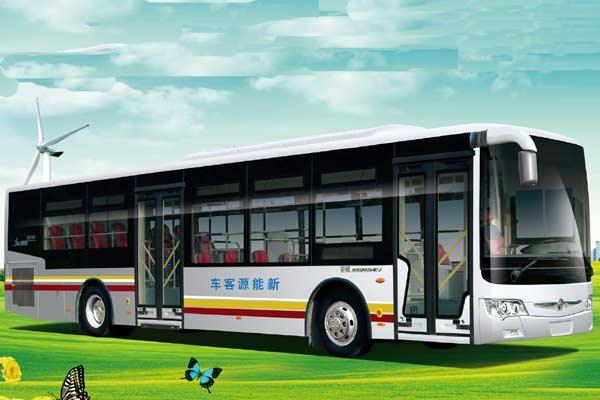 亚星JS6126GHEV公交车