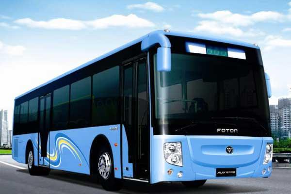 客车网 福田欧辉客车 > 福田欧辉bj6123phevca-2公交车(天然气/电混动图片