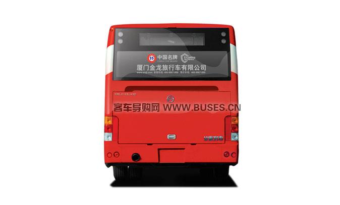 金旅客车XML6105城市客车系列尾部