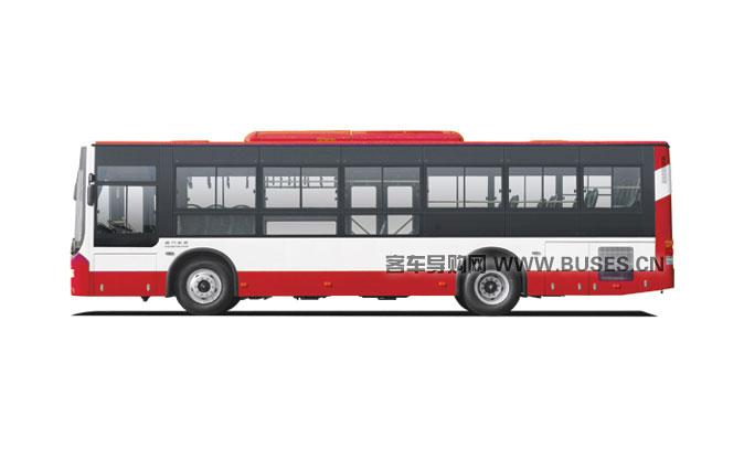 金旅客车XML6105城市客车系列侧面