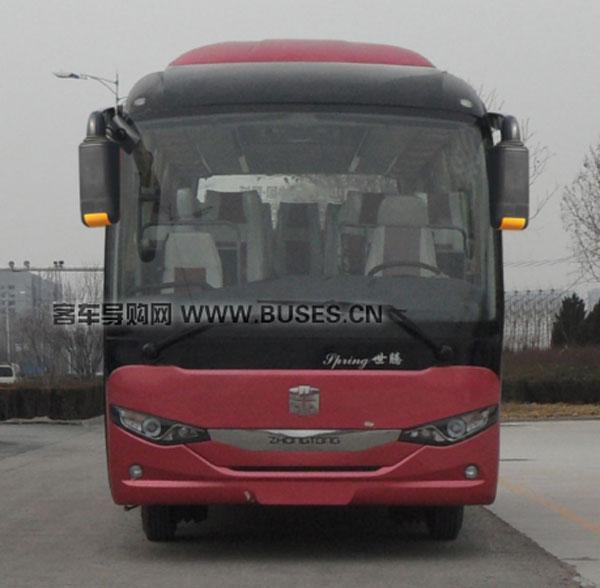 中通客车LCK6808EV纯电动前脸