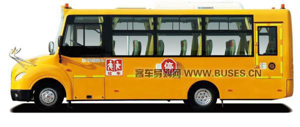 中通客车LCK6750D4XH侧面