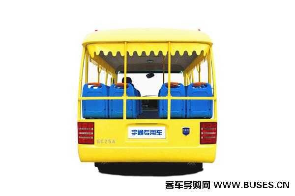 宇通客车GC23A观光车-背面