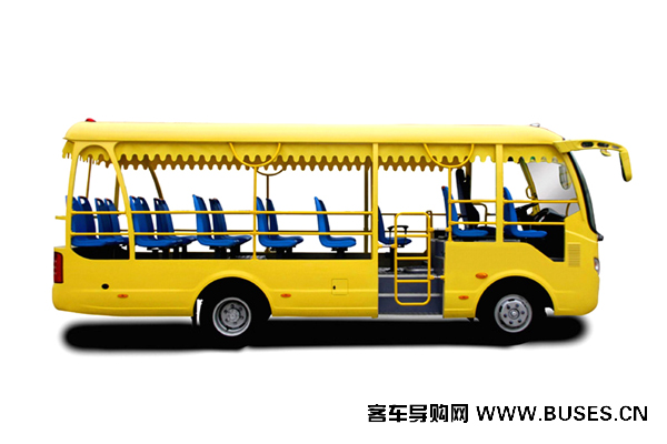 宇通客车GC23A观光车-左侧